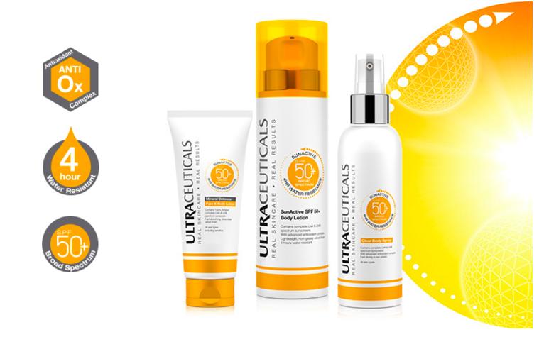 SPF skin protection perth