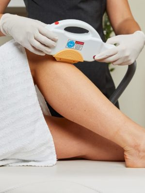 IPL leg Hair Removal In-Use 06