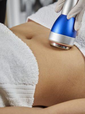 Body Contouring treatment on abdomen